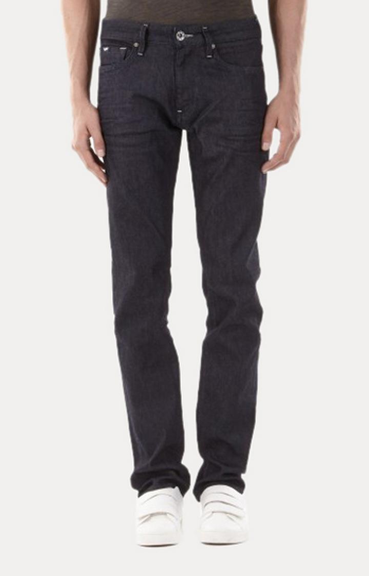 GAS | Men's Morris Dark Straight Fit Blue Jeans