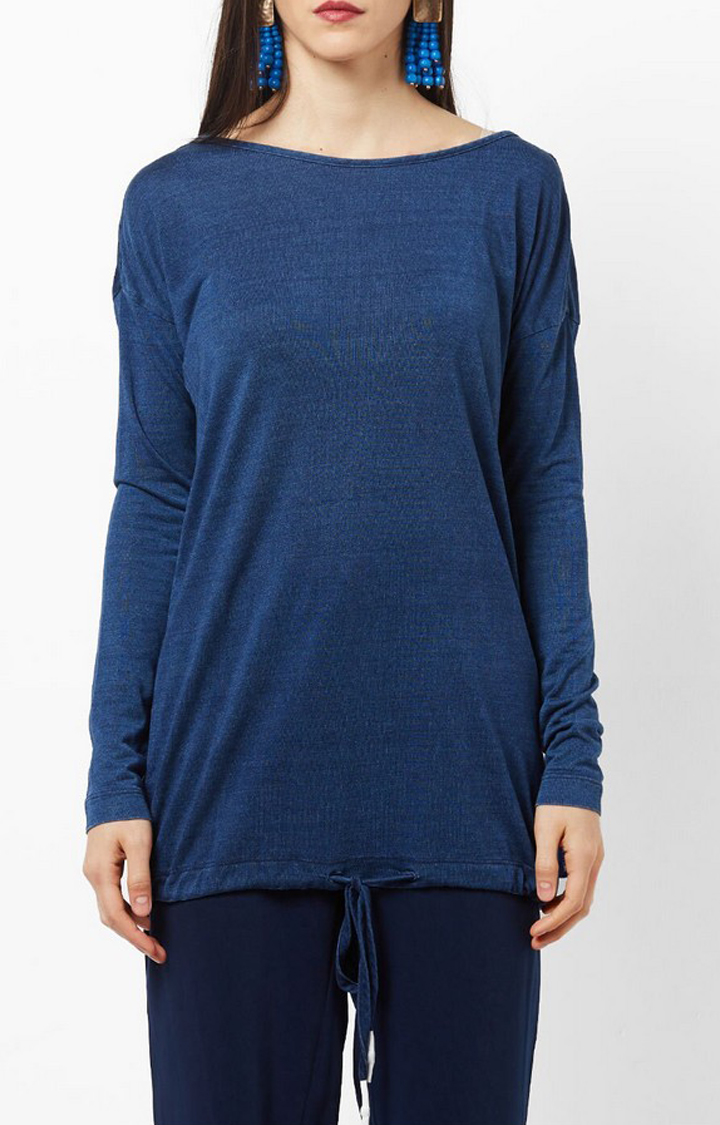 GAS | Comfort Fit Full Sleeves Actress Top