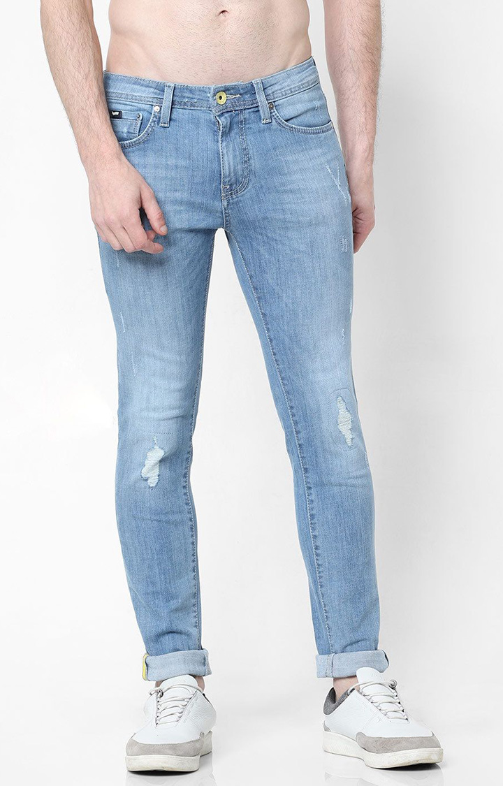 GAS | Distressed Skinny Jeans
