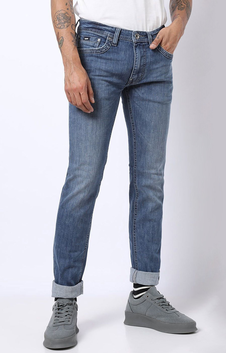 GAS | Men's Albert Washed Slim Fit Jeans