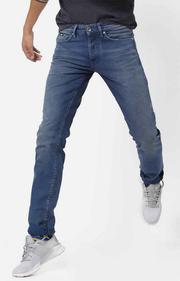 GAS | Anders Slim Fit Lightly Washed Jeans