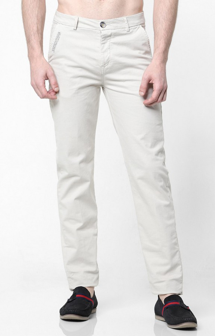 GAS | Flat-Front Trousers with Slant Pockets