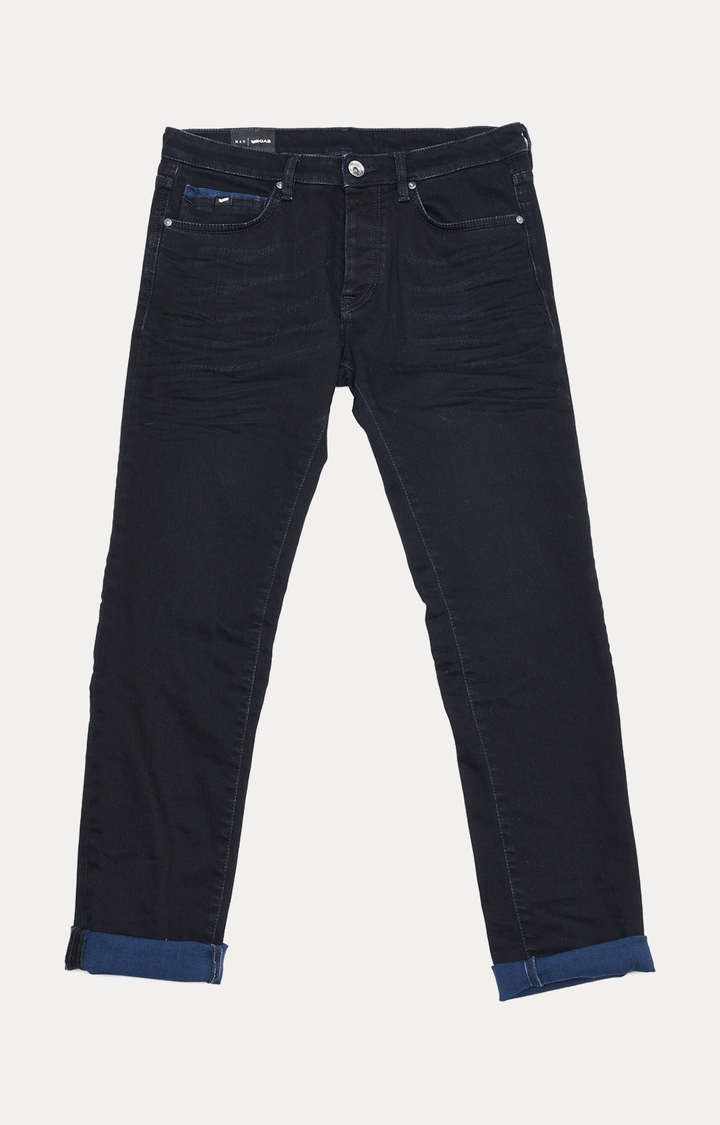 GAS | Men's Mitch Straight Fit Black Jeans