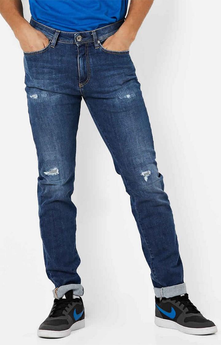 GAS | Albert Taylor Distressed Slim Fit Jeans