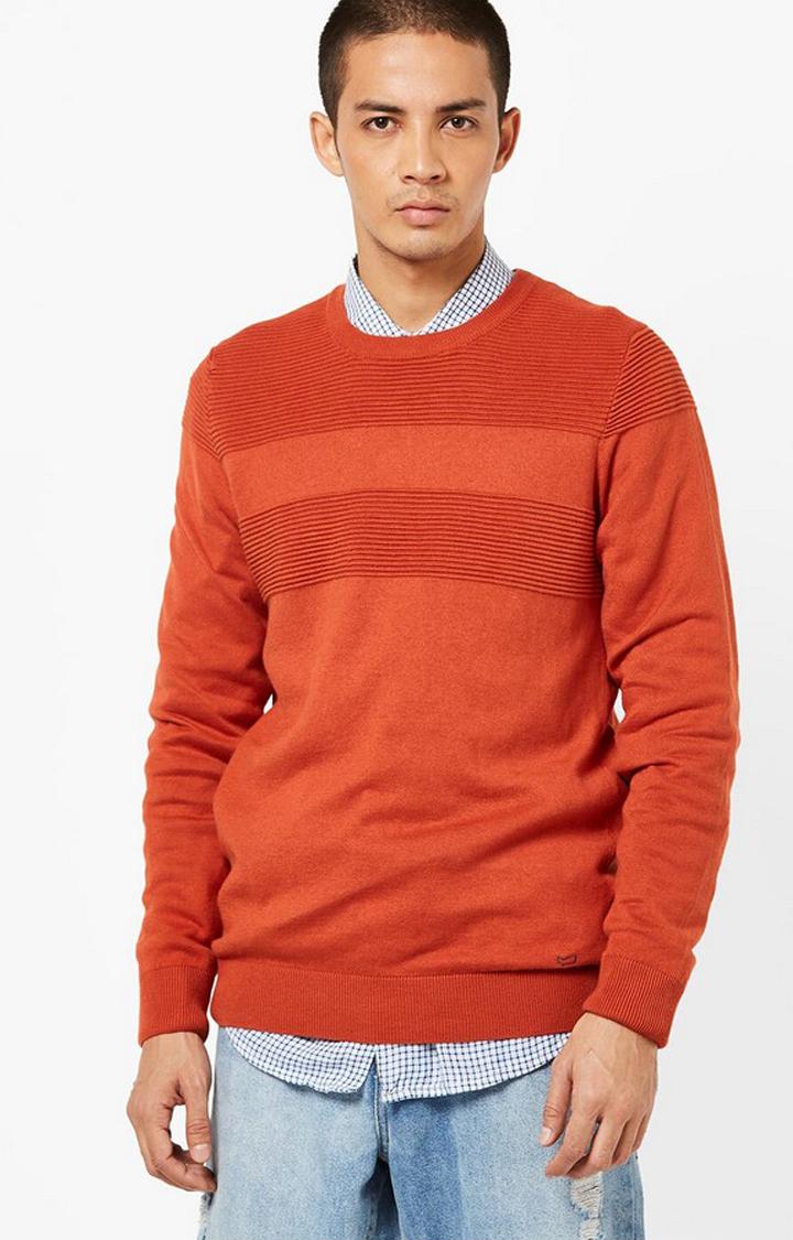 GAS | Evald Striped Crew-Neck Pullover