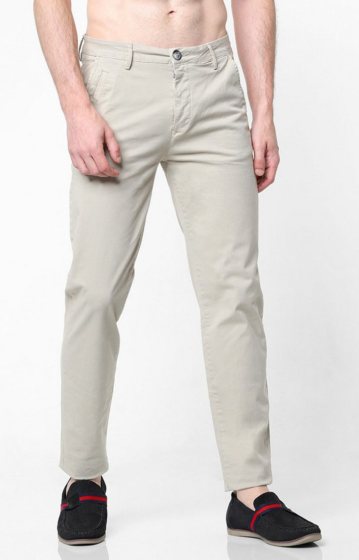GAS | Sadeck Flat-Front Slim Fit Trousers