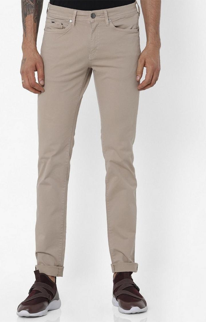 GAS | Albert Simple Beige Slim Fit Jeans