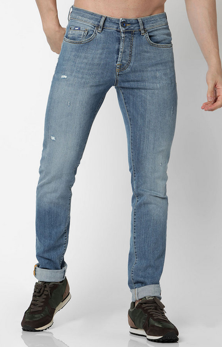 GAS | Anders Lightly Washed Slim Fit Jeans