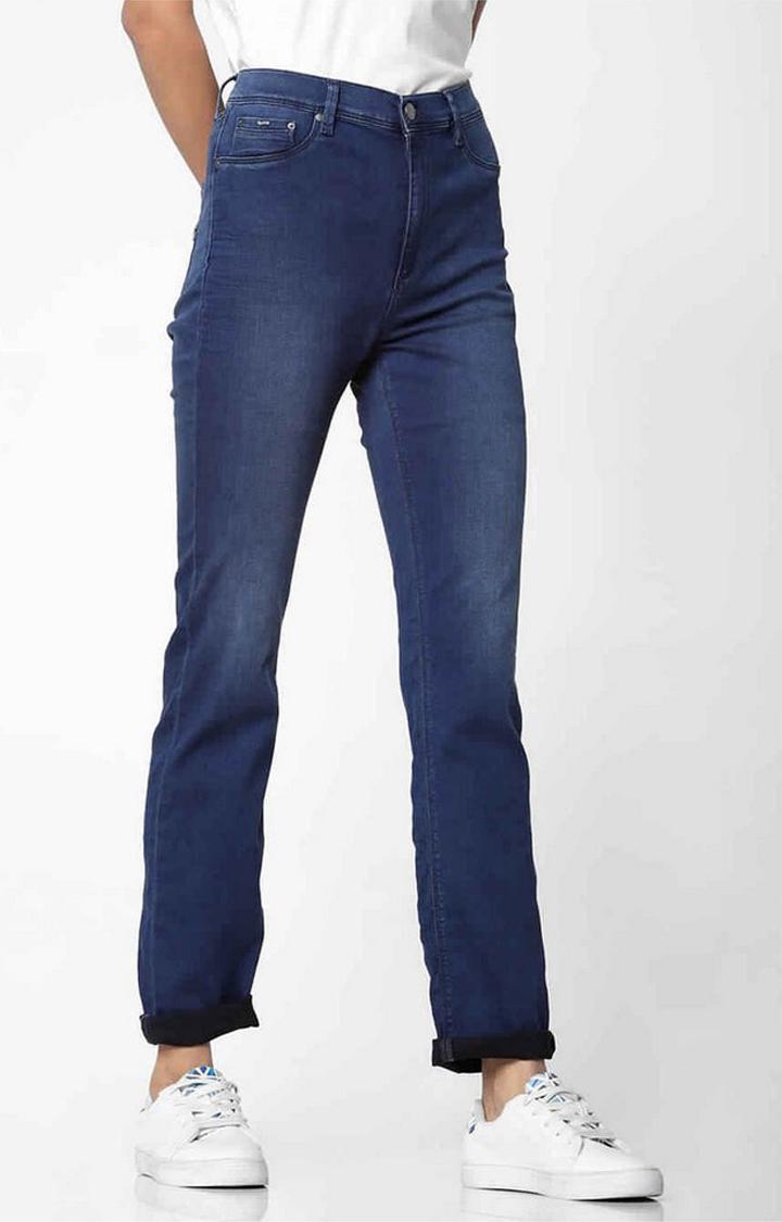 GAS   Women's mid wash skinny fit Sumatra X jeans