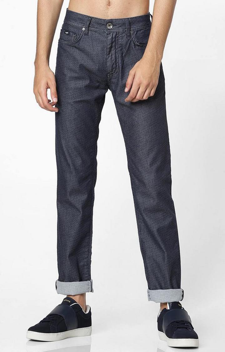 GAS | Albert Simple Ditsy Print Slim Jeans