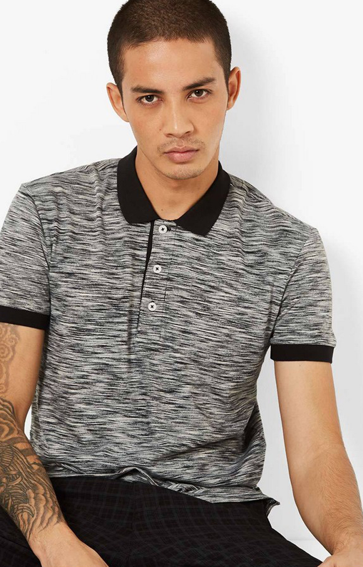GAS   Slim Fit Polo T-shirt with Step Hem