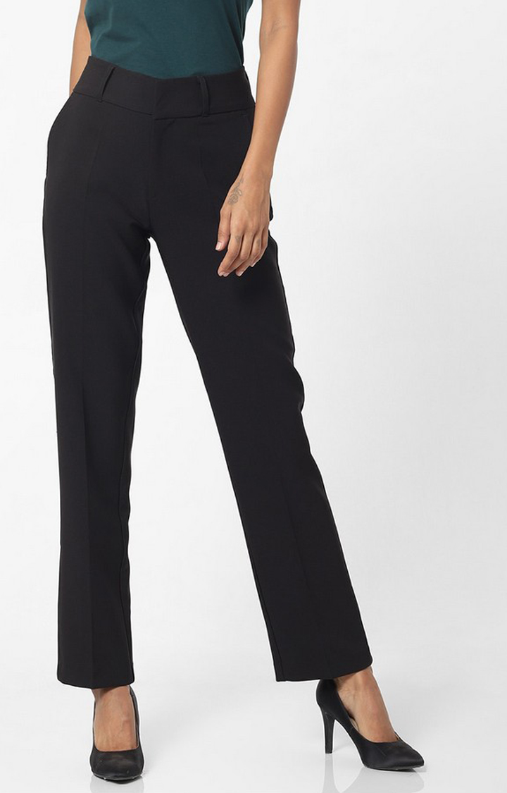 GAS | Women's regular fit mid rise Bhelty trousers