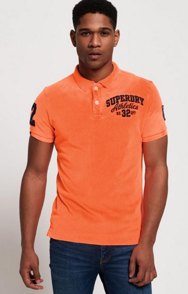 Superdry | Superdry Orange Men Polo