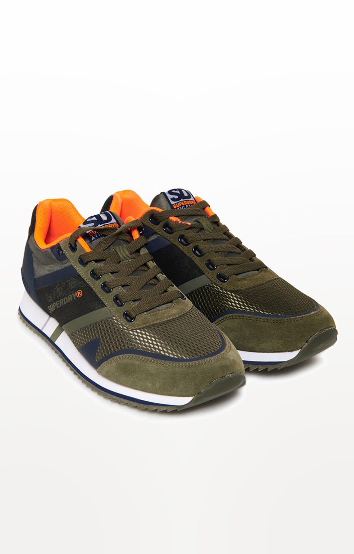 Superdry | Green Sports Shoes