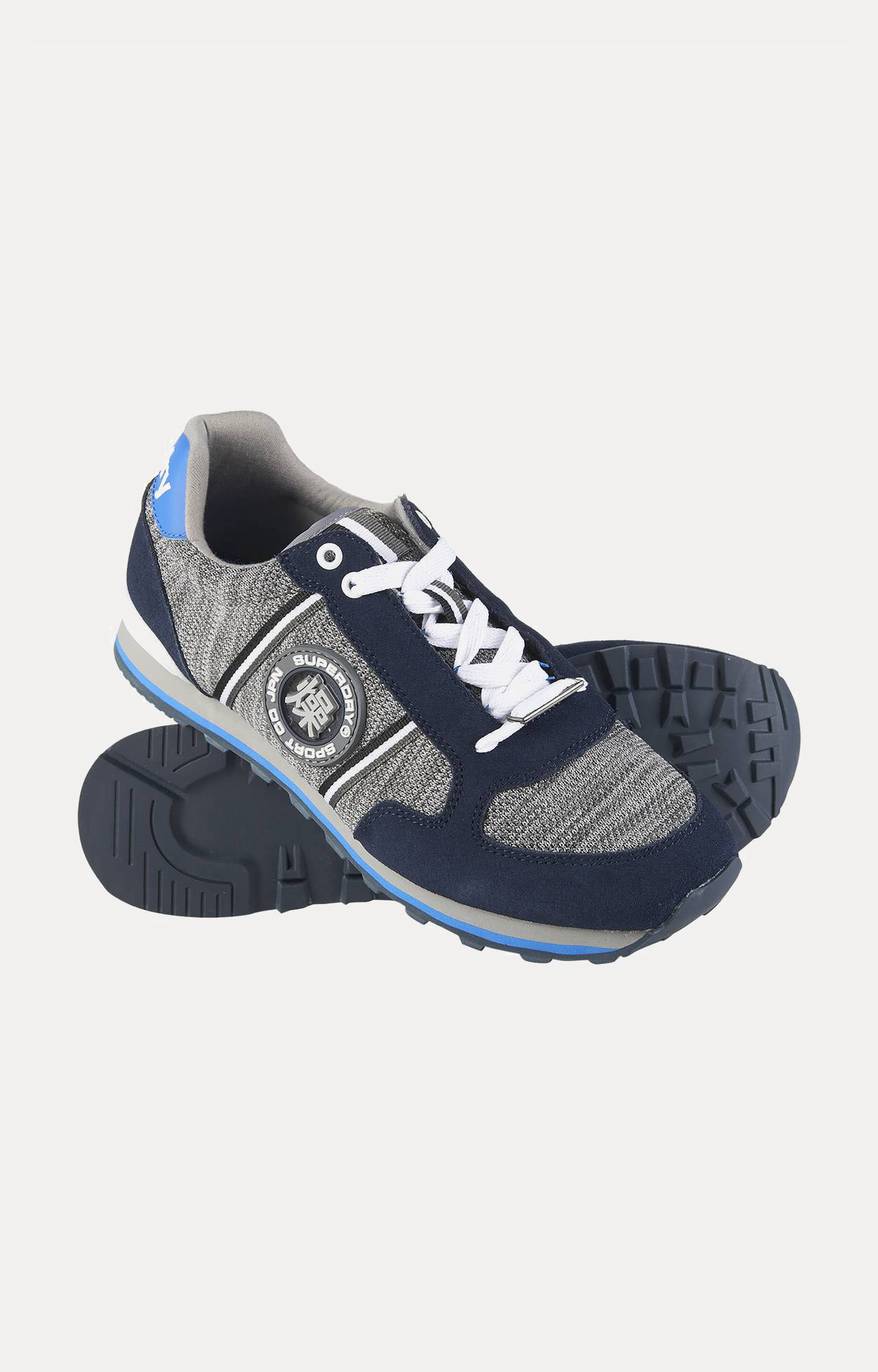 Superdry   Superdry Fuji Navy Running Shoes