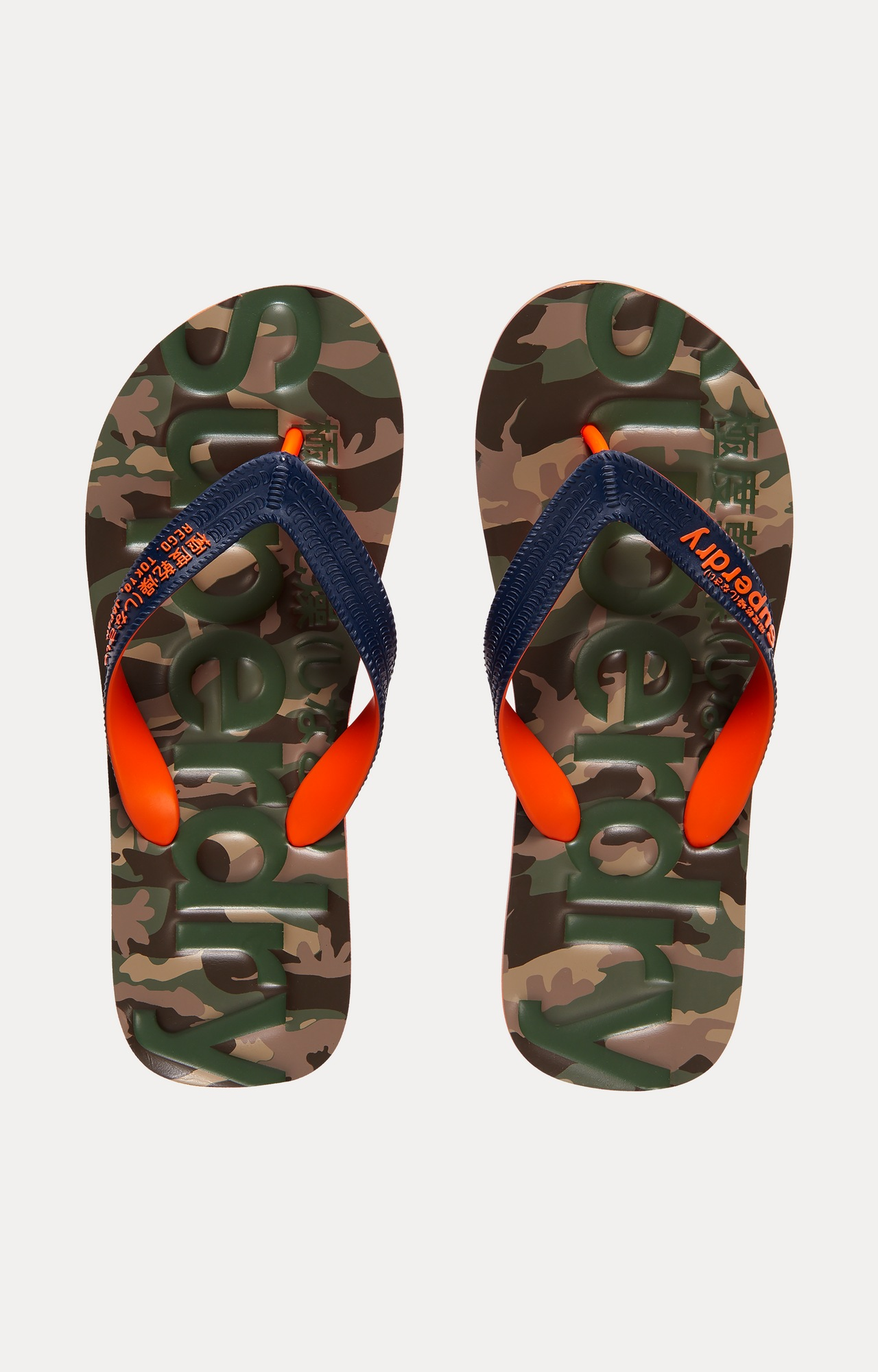 Superdry | Green Flip Flops