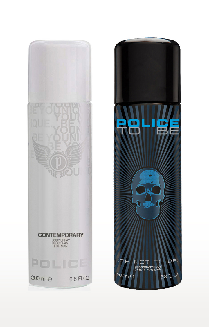 POLICE   Contemporary and Tobe Deo Combo Set - Pack of 2