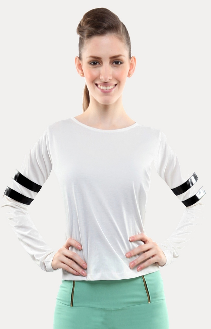 MISS CHASE | White The Simple Life T-Shirt