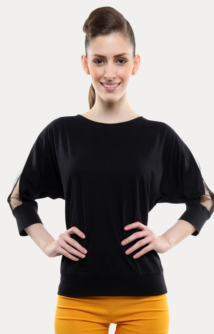 MISS CHASE | Black Sweatshirt