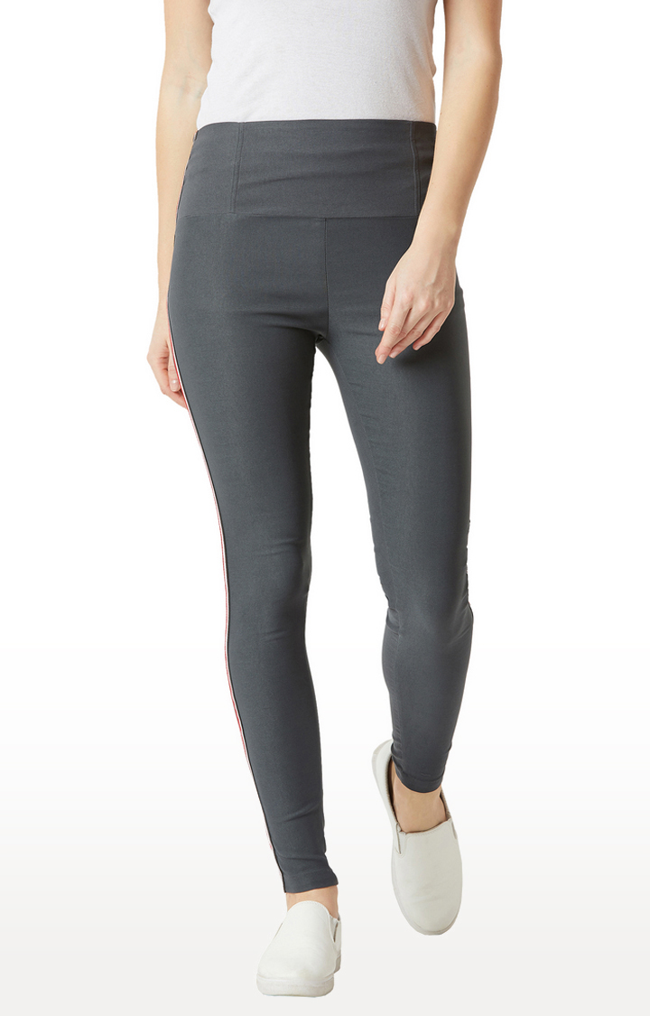 MISS CHASE | Grey Jeggings