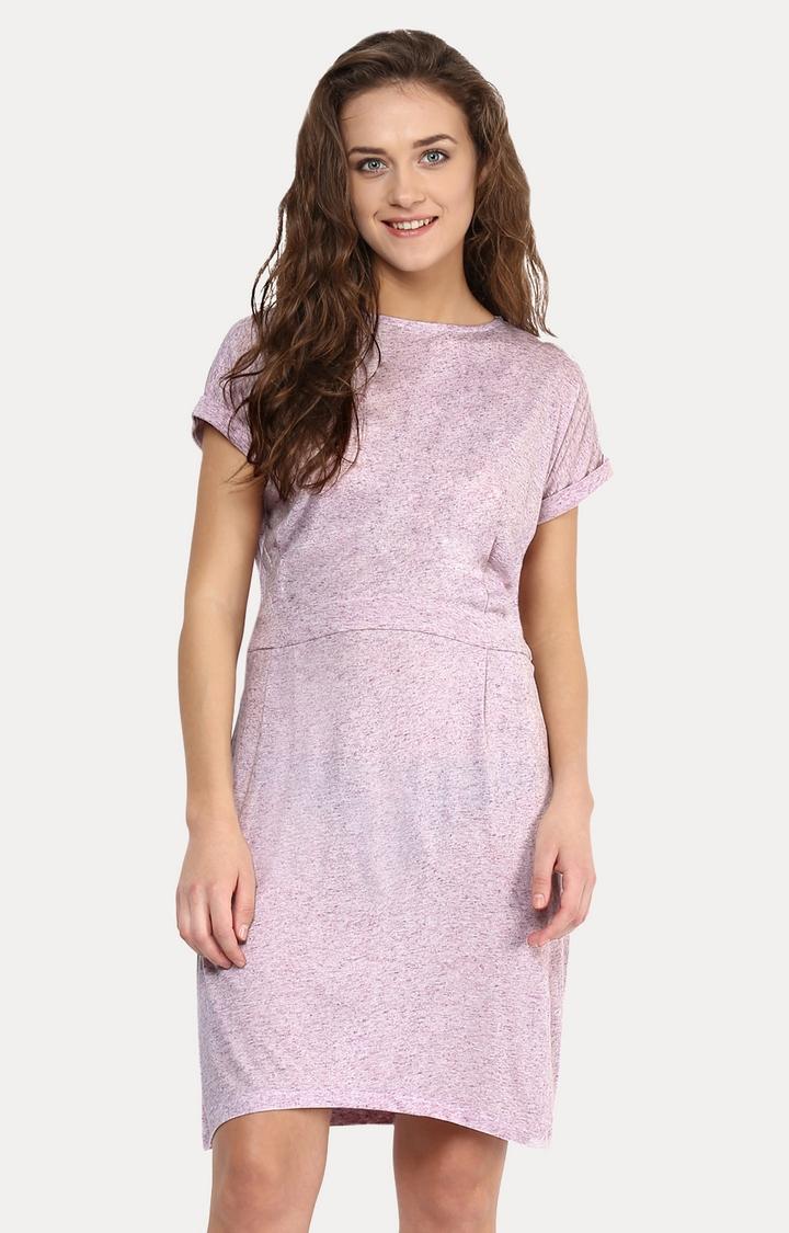 MISS CHASE   Purple Stuck On You Dress