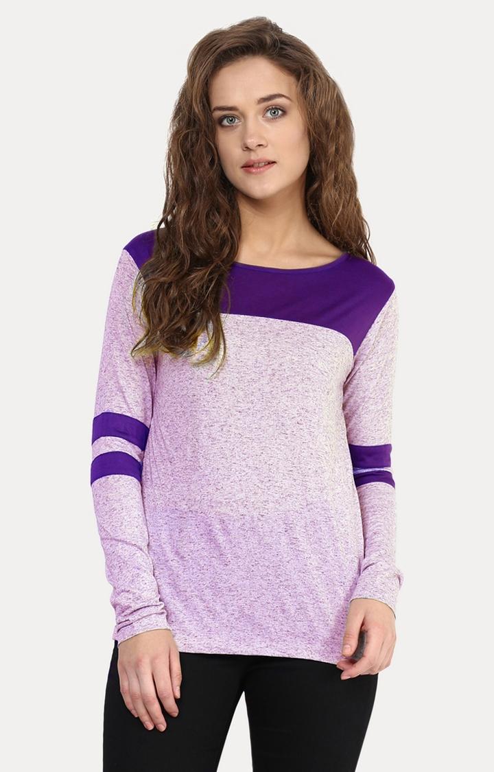 MISS CHASE   Purple T-Shirt
