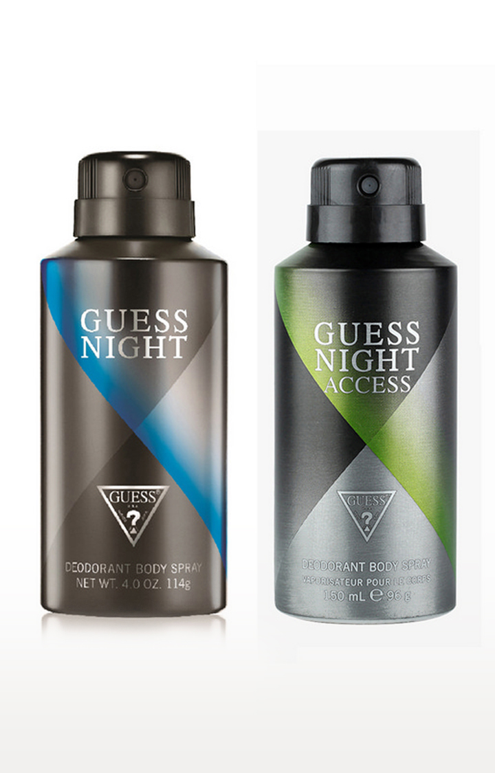GUESS   Night and Nightaccess Deo Combo Set of 2