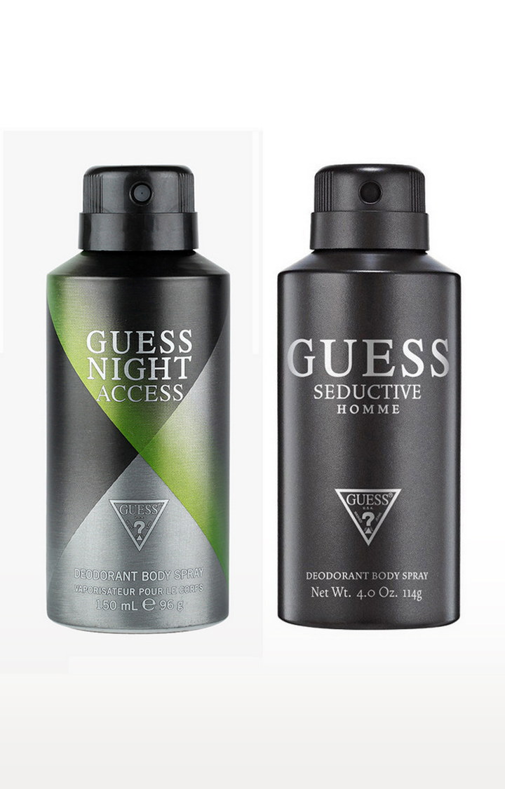 GUESS   Nightaccess and Seductivehomme Deo Combo Set of 2