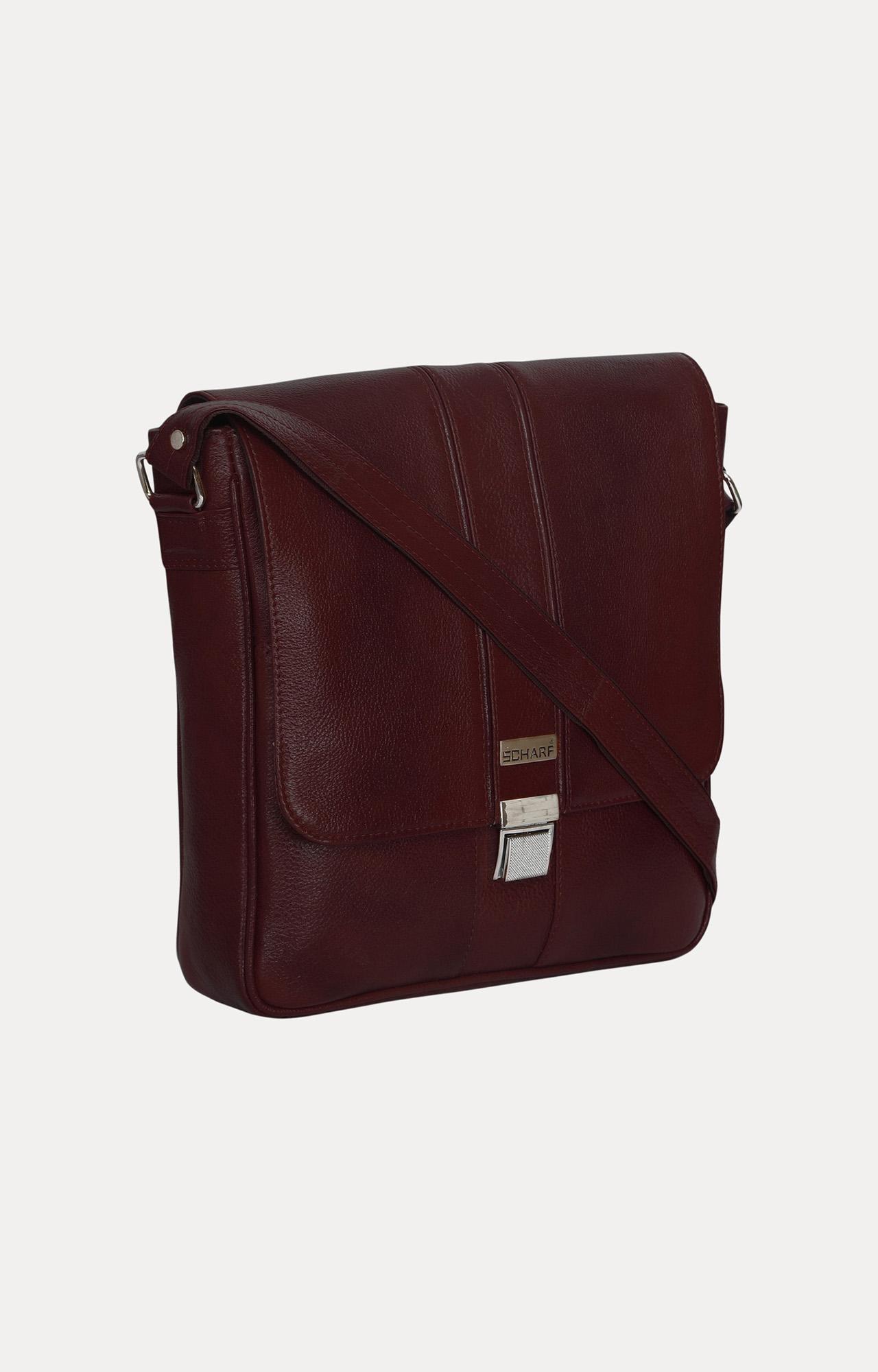 SCHARF | Brown Messenger Bag