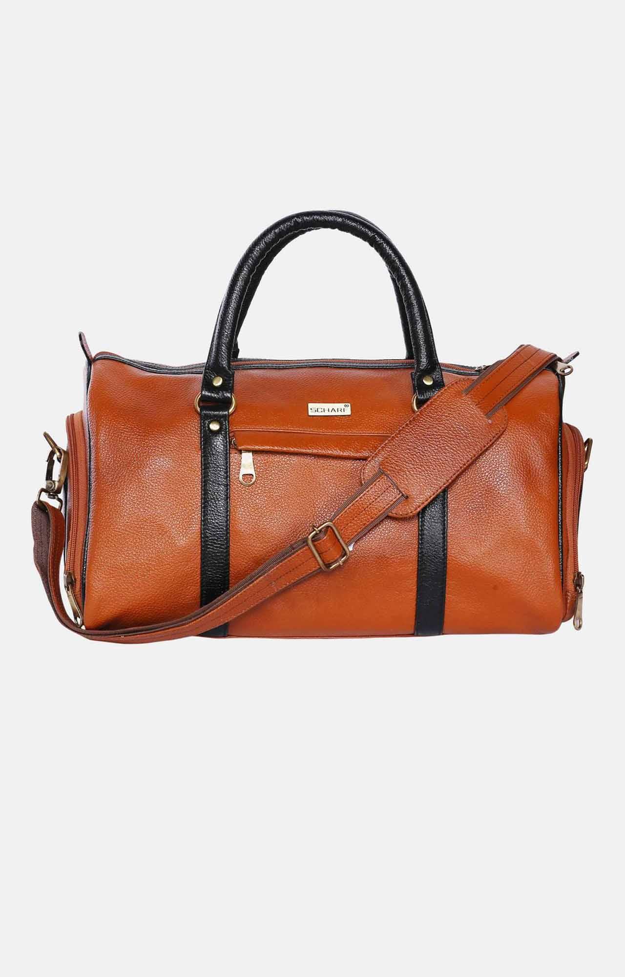 Tan Duffle Bag