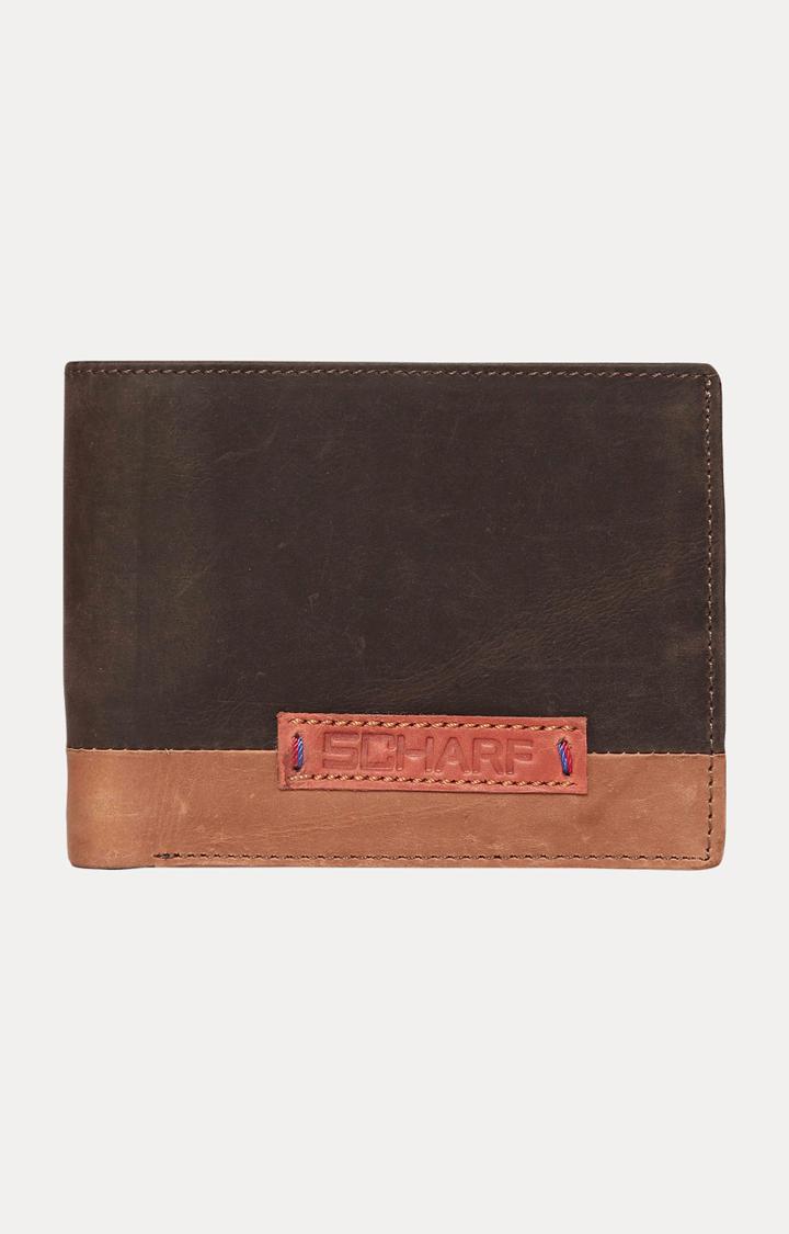 SCHARF   Dark Brown Wallet