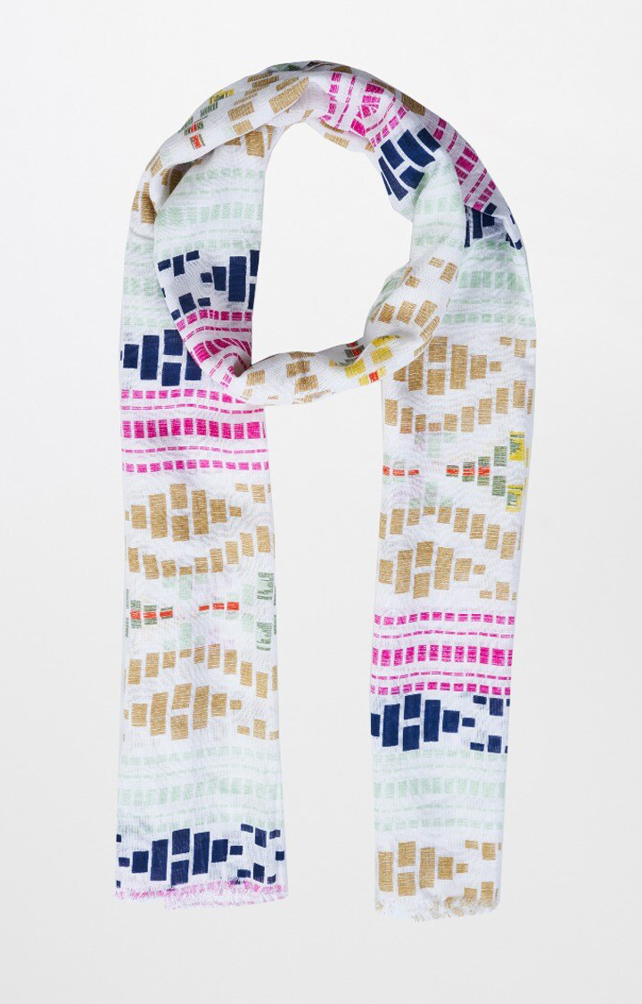 AND   Multicoloured Printed Scarf