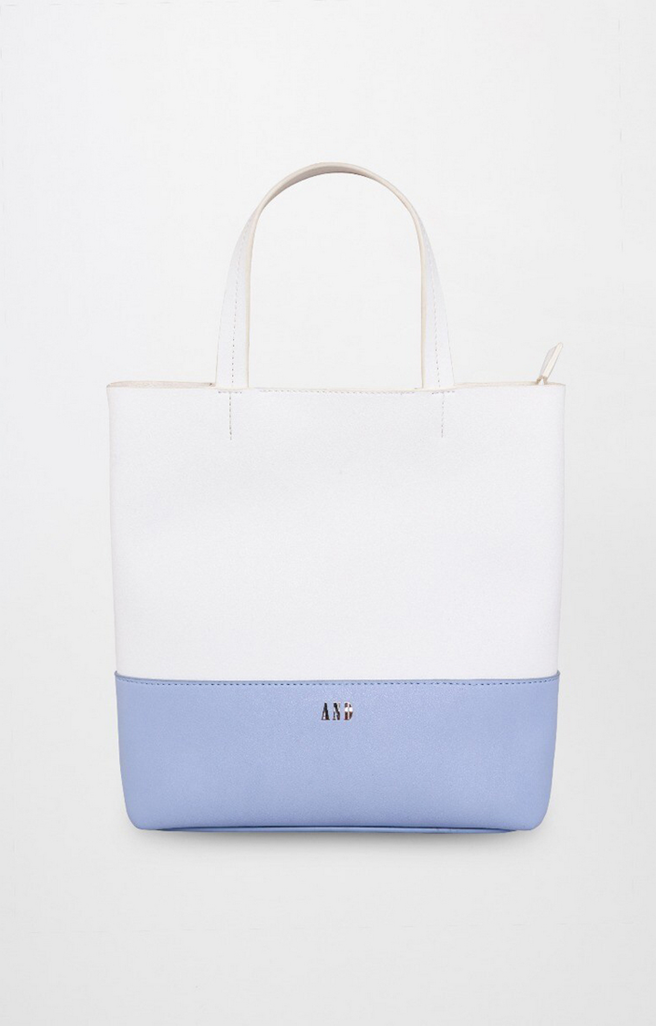 AND | White and Blue Tote