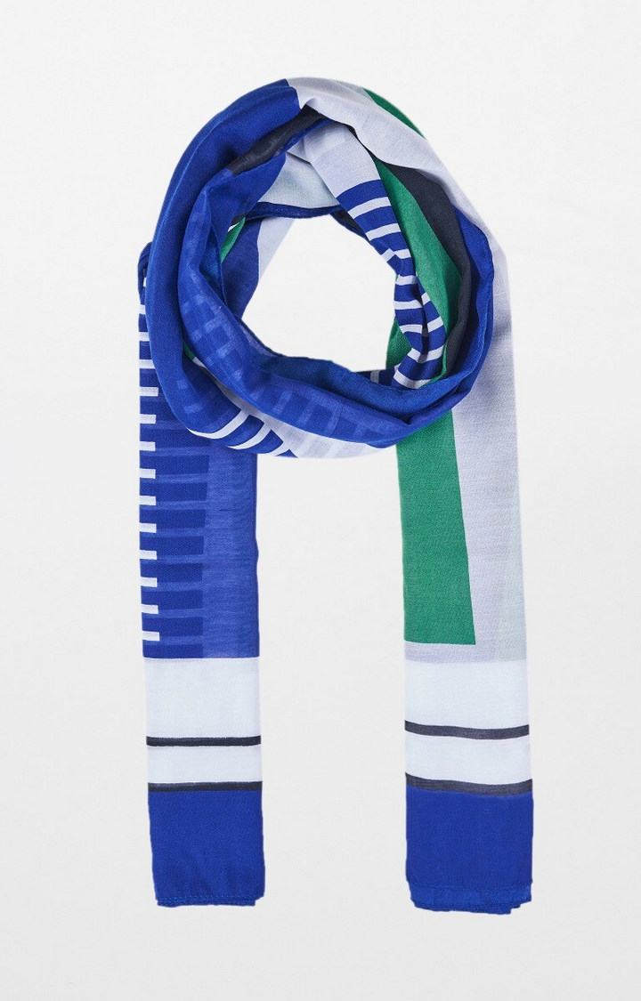 AND | Multicoloured Printed Scarf
