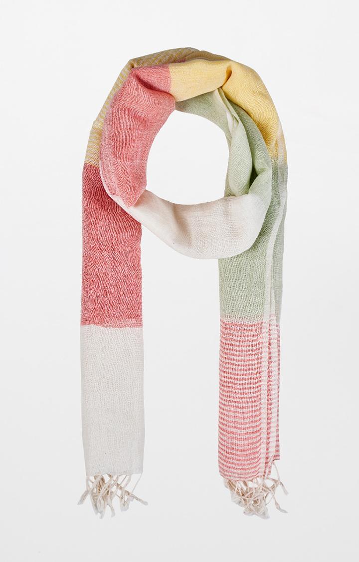 AND | Multicoloured Colourblock Scarf