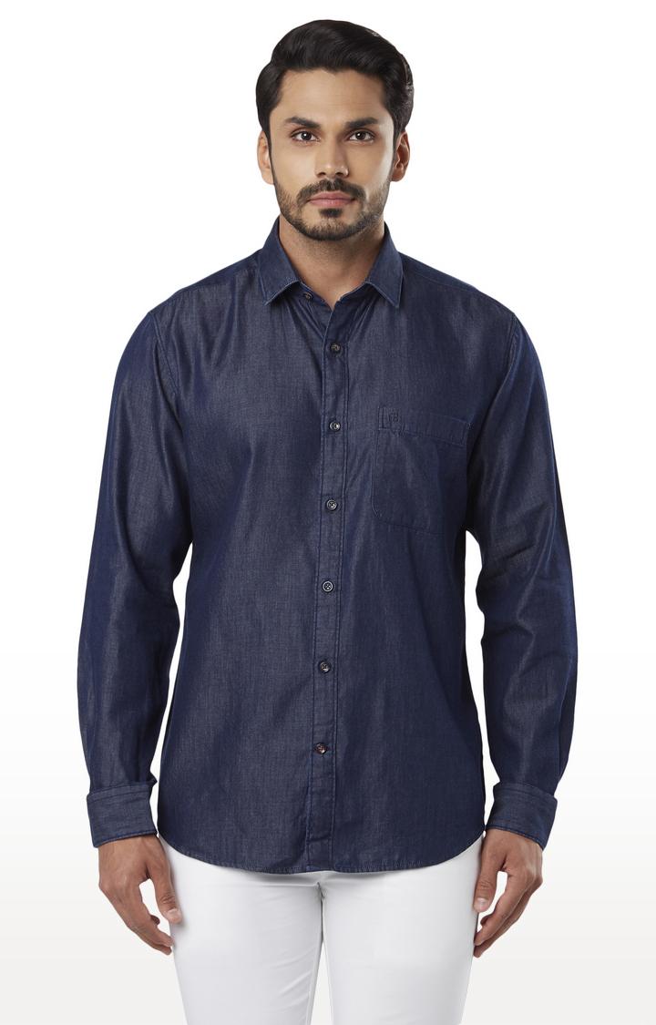 Raymond | Blue Shirt