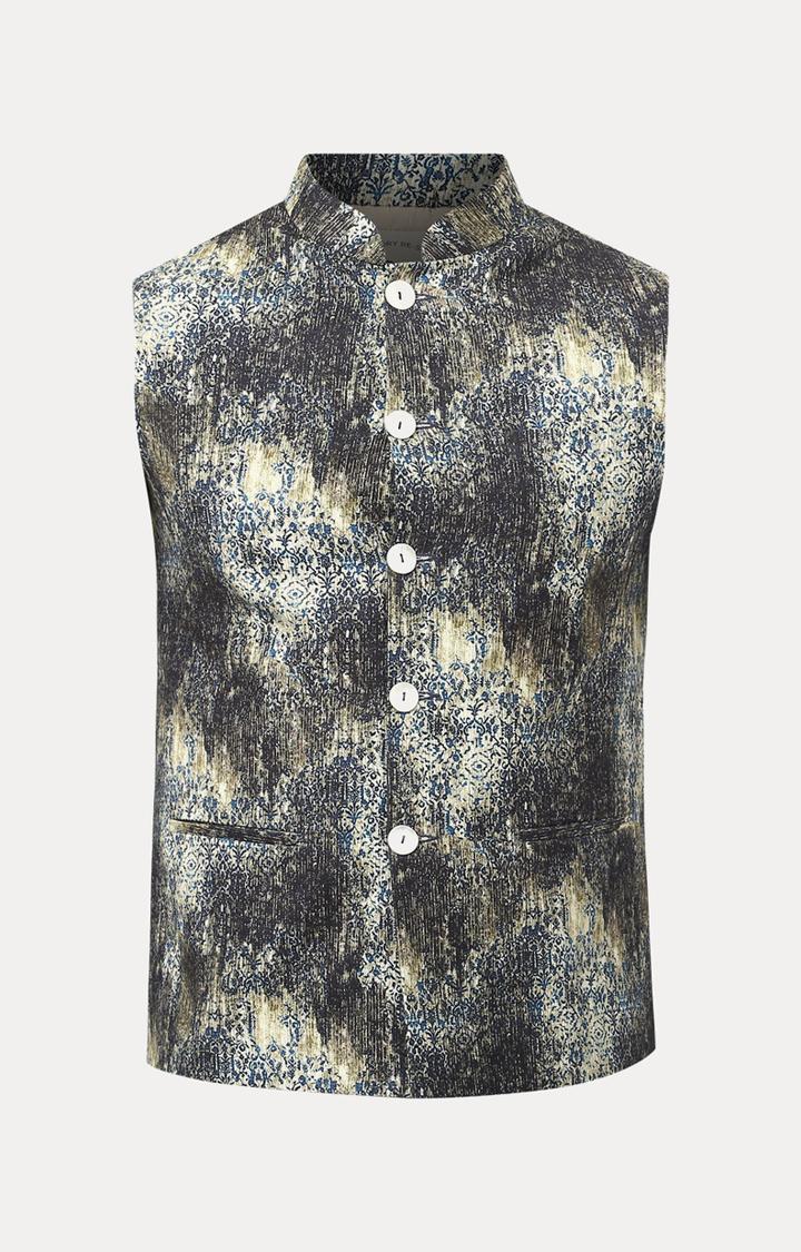 Raymond   Multicoloured Printed Ethnic Jacket
