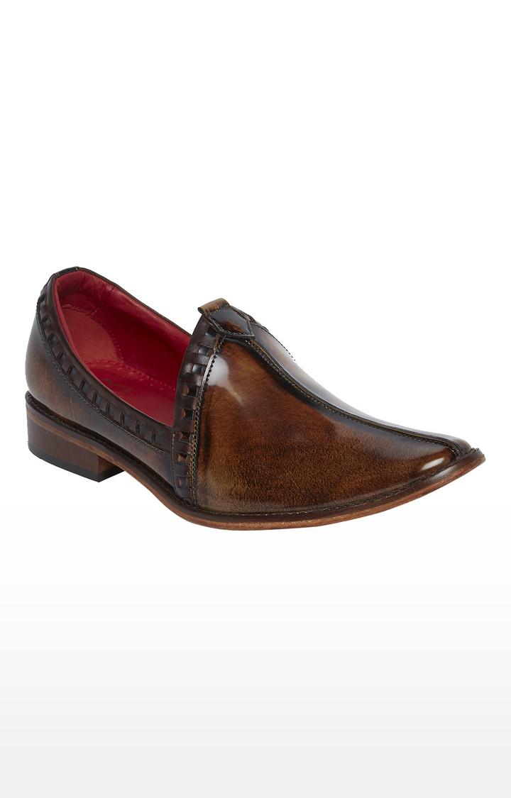 Raymond | Khaki Formal Slip-ons