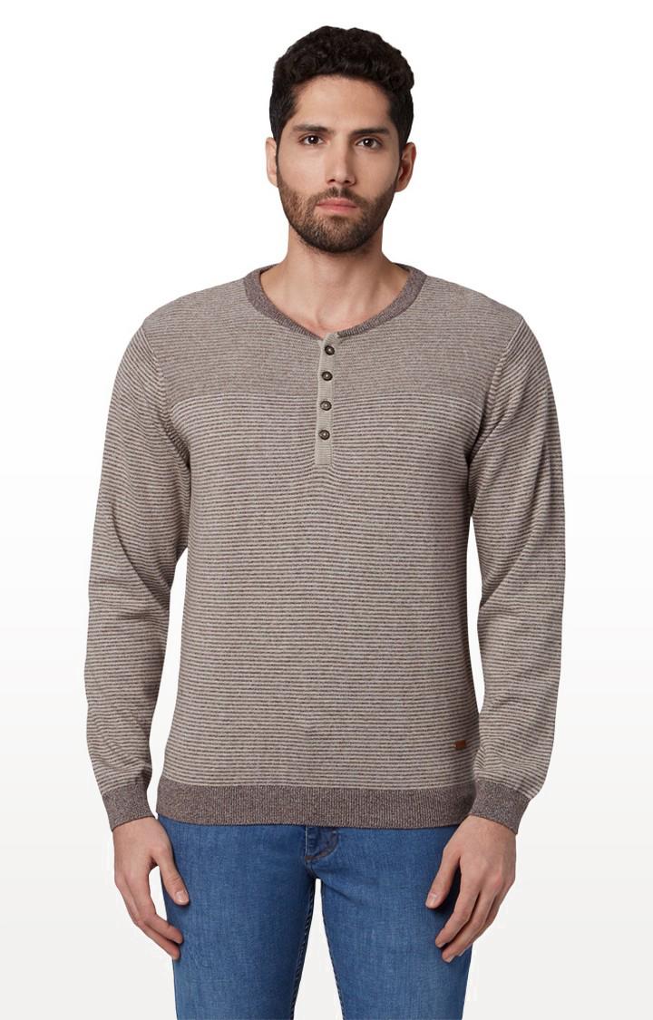 Park Avenue | Park Avenue Dark Brown Sweater