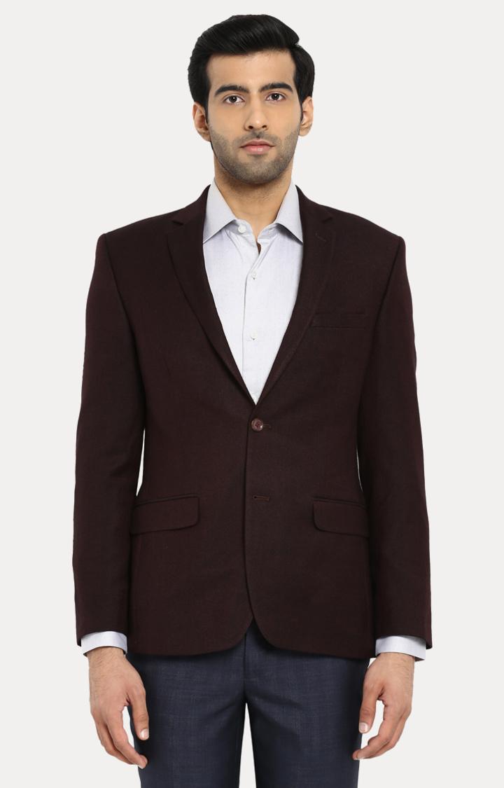 Park Avenue | Dark Brown Solid Blazer