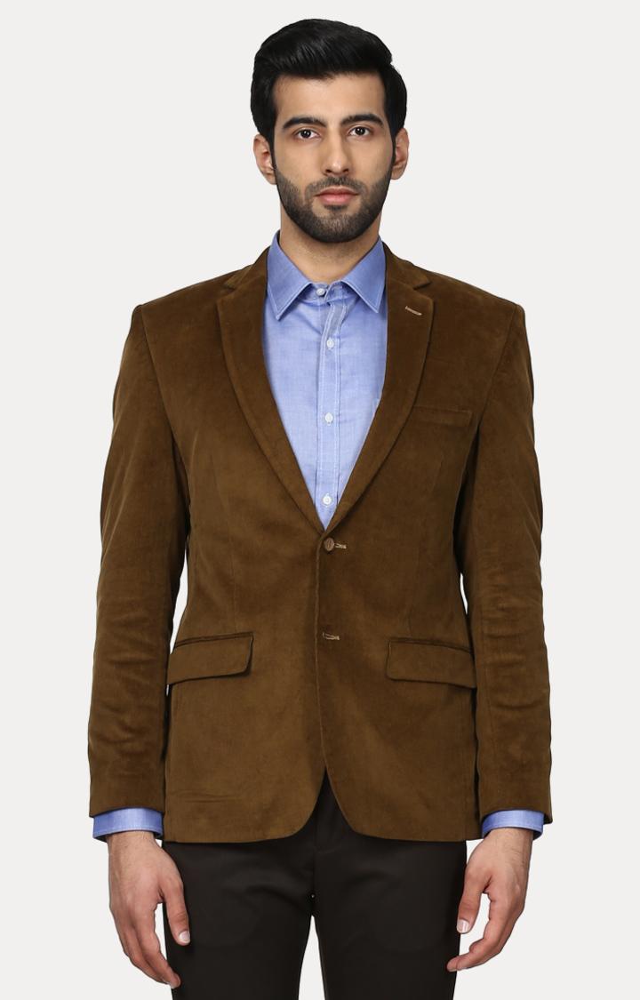 Park Avenue | Brown Solid Blazer