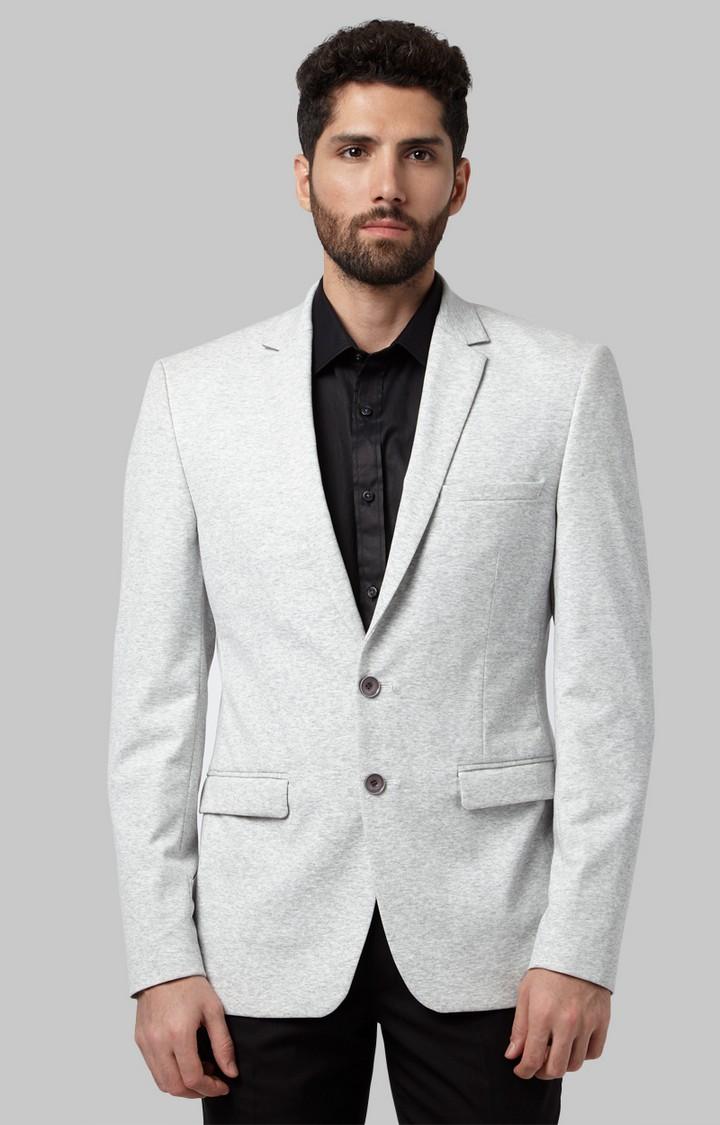 Park Avenue | Light Grey Melange Blazer