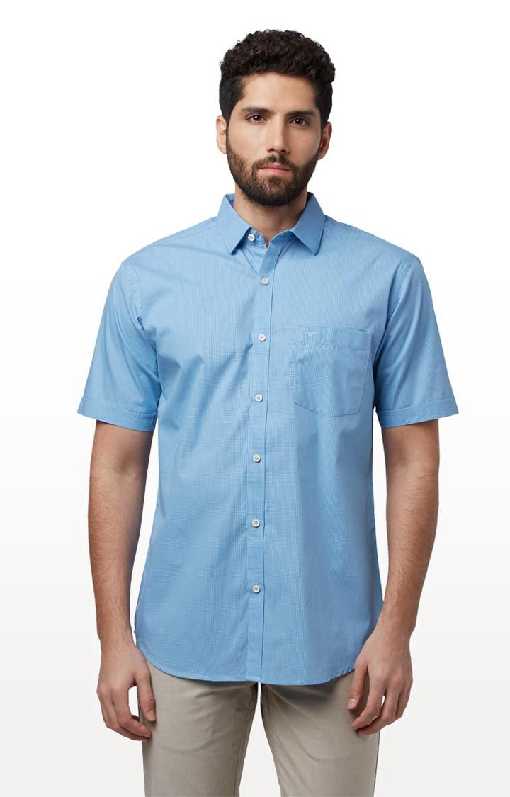 Park Avenue   Park Avenue Medium Blue Shirt