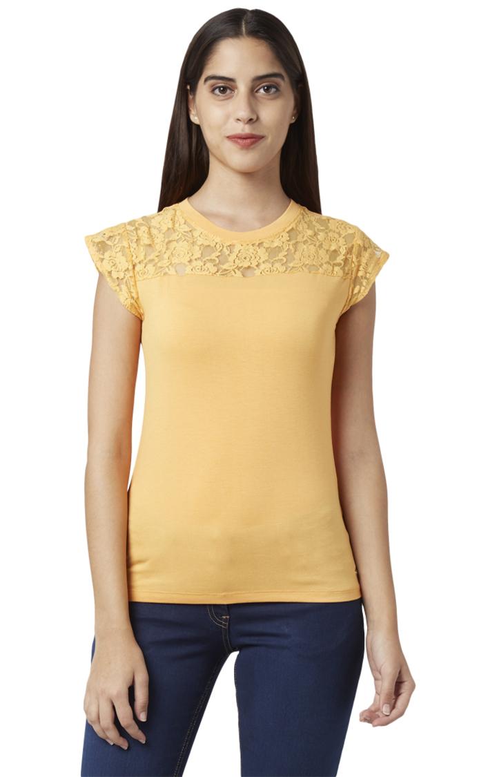 Park Avenue   Park Avenue Woman Orange T-Shirt