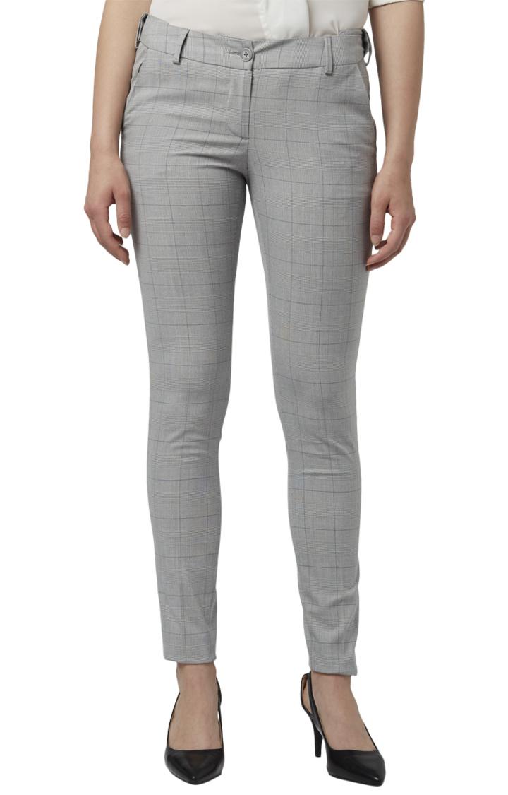 Park Avenue | Park Avenue Woman Grey Trouser