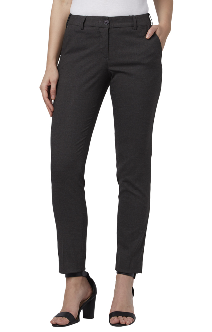 Park Avenue | Grey Tapered Trousers