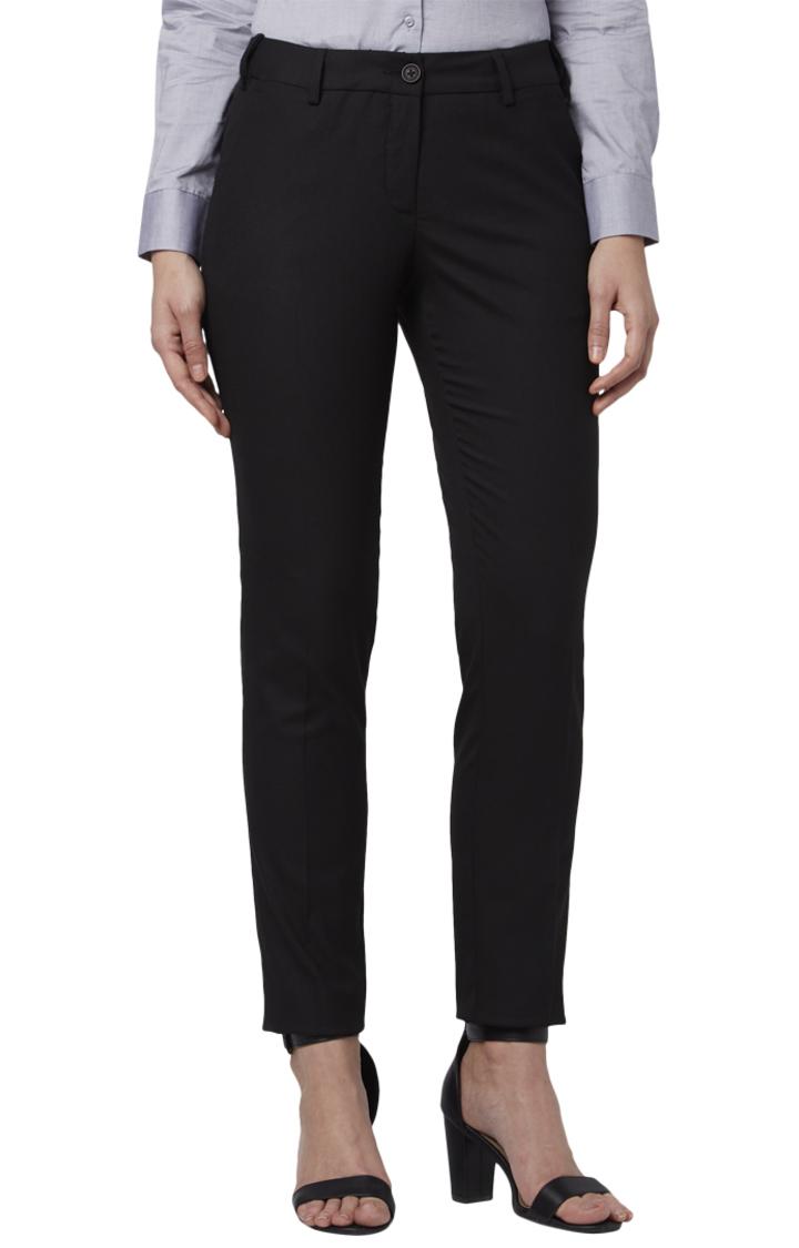 Park Avenue | Park Avenue Woman Black Trouser