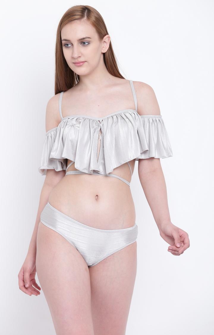 La Intimo | Grey Bikini