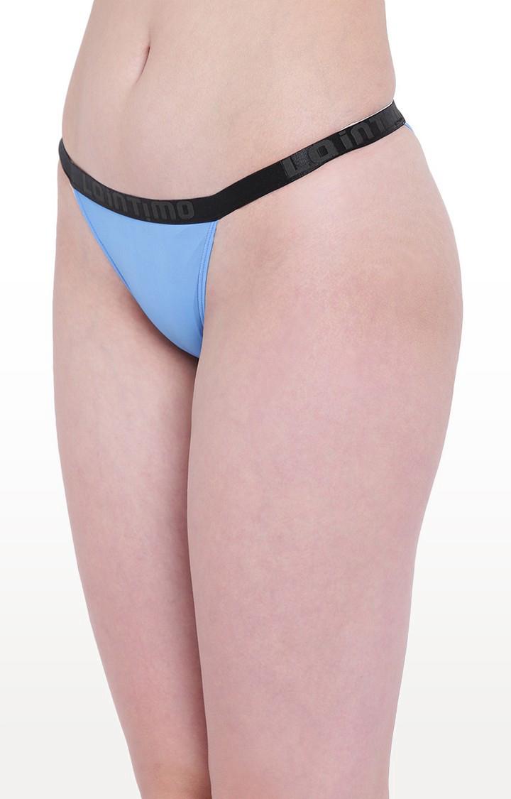 La Intimo | Blue Aqua Affair Bikini Panty