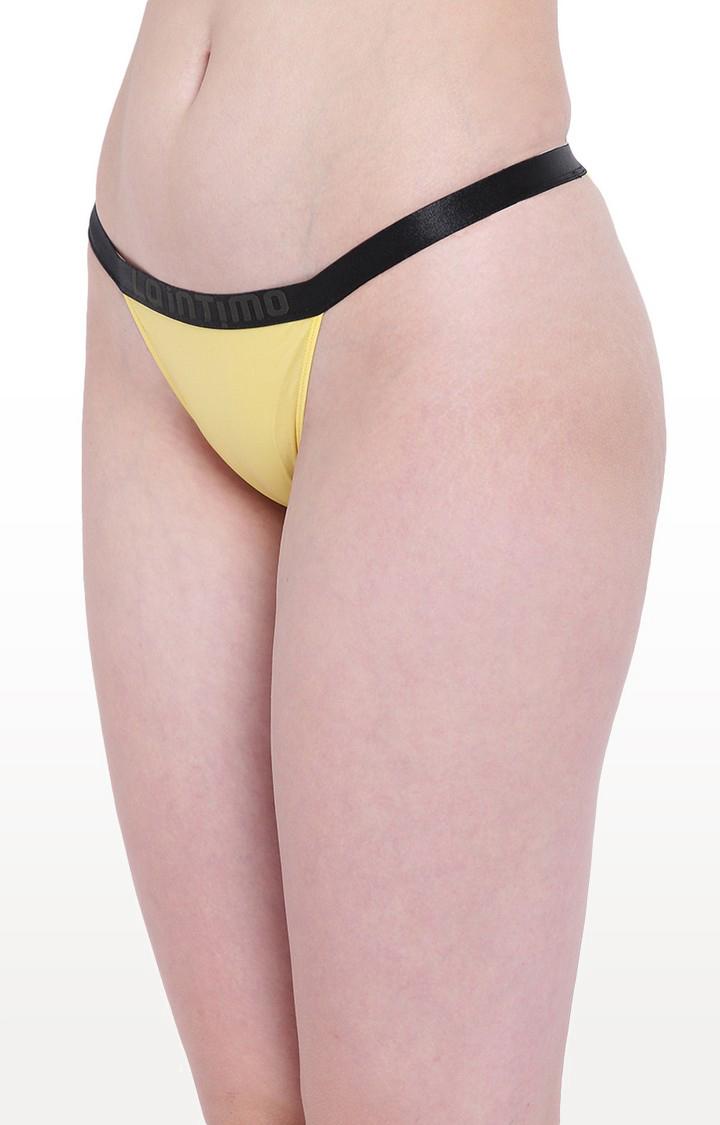 La Intimo | Yellow Aqua Affair Bikini Panty